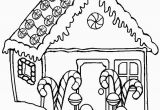 Free Printable Christmas Gingerbread House Coloring Pages Printable Gingerbread House Coloring Pages for Kids