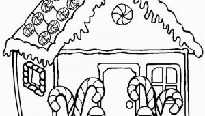 Free Printable Christmas Gingerbread House Coloring Pages Printable Gingerbread House Coloring Pages for Kids