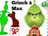Free Printable Christmas Grinch Coloring Pages Grinch & Max Coloring Page and Video