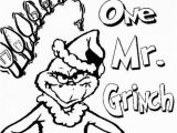 "Free Printable Christmas Grinch Coloring Pages You Re A Mean E Mr Grinch"" Printable Coloring Page"