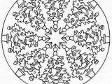 Free Printable Christmas Mandala Coloring Pages Christmas Mandala Coloring Pages