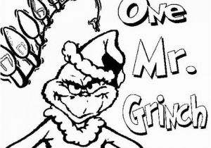 Free Printable Christmas ornament Coloring Pages Grinch Christmas Printable Coloring Pages