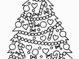 Free Printable Christmas Tree Coloring Page Free Drawing A Christmas Tree Download Free Clip Art