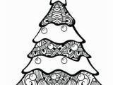 Free Printable Christmas Tree Coloring Page Free Printable Christmas Tree Coloring Pages