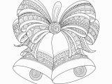 Free Printable Christmas Zentangle Coloring Pages Adult Christmas Bells Zentangle Coloring Pages Printable