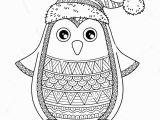 Free Printable Christmas Zentangle Coloring Pages Christmas Zentangle Coloring Page with Images