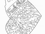 Free Printable Coloring Book Pages for Adults Swear Words Swear Word Adult Coloring Pages at Getdrawings