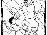 Free Printable Coloring Page Of David and Goliath David and Goliath Coloring Pages Unique 7 Best Education