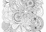Free Printable Coloring Pages for Adults Advanced Flowers Flowers Abstract Coloring Pages Colouring Adult Detailed Advanced
