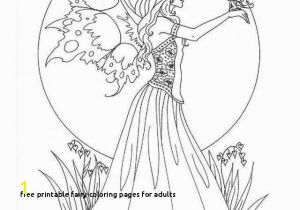 Free Printable Coloring Pages for Adults Dark Fairies Free Printable Fairy Coloring Pages for Adults Cat Coloring Pages