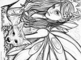 Free Printable Coloring Pages for Adults Fairies 275 Best Images About Coloring Fairies U0026 Mythical