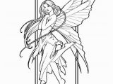 Free Printable Coloring Pages for Adults Fairies Fairy Coloring Pages for Adults Free Printable Fairy