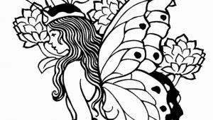 Free Printable Coloring Pages for Adults Fairies Printable Adult Coloring Pages Fairy Coloring Home