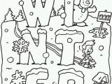 Free Printable Coloring Pages for Winter 40 Most Cool Free Winter Coloring Pages for Kindergarten