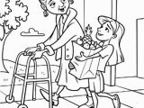 Free Printable Coloring Pages Helping Others Helping Drawing at Getdrawings