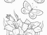 Free Printable Coloring Pages Of Flowers and butterflies butterfly Flower Coloring Pages at Getcolorings
