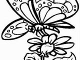Free Printable Coloring Pages Of Flowers and butterflies butterfly with Flower Coloring Page Free butterfly