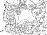 Free Printable Coloring Pages Of Flowers and butterflies Coloring Pages for Adults Digital Coloring Page