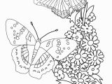 Free Printable Coloring Pages Of Flowers and butterflies Flowers and butterflies Drawing at Getdrawings