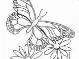 Free Printable Coloring Pages Of Flowers and butterflies Printable butterfly and Flower Coloring Pages Best