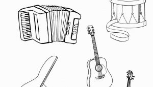 Free Printable Coloring Pages Of Musical Instruments Musical Instruments Coloring Pages to and Print