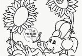 Free Printable Coloring Pages Of Spring Flowers Springtime to Color Free Printable Flower Coloring Pages