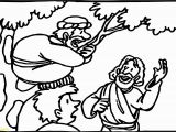 Free Printable Coloring Pages Of Zacchaeus Coloring Pages for Zacchaeus