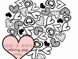 Free Printable Coloring Pages Valentine Heart Coloring Pages Hearts