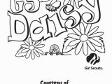 Free Printable Daisy Girl Scout Coloring Pages Coloring Pictures Of Girl Scouts Daisy