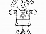 Free Printable Daisy Girl Scout Coloring Pages Girl Scouts Coloring Pages Coloring Home