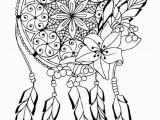 Free Printable Dream Catcher Coloring Pages Free Dream Catcher Coloring Pages for Adults Printable to
