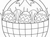 Free Printable Easter Basket Coloring Pages Best Easter Basket Coloring Sheet Gallery