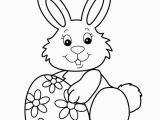 Free Printable Easter Bunny Coloring Pages April 2018
