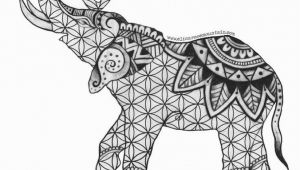 Free Printable Elephant Coloring Pages for Adults Get This Free Printable Elephant Coloring Pages for Adults