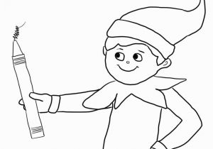 Free Printable Elf On the Shelf Coloring Pages Elf A Shelf Coloring Pages Coloring Home