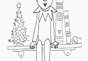 Free Printable Elf On the Shelf Coloring Pages Free Printable Elf the Shelf Coloring Pages Coloring Home