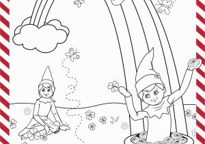 Free Printable Elf On the Shelf Coloring Pages St Patrick S Day Printable