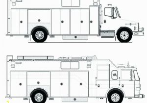 Free Printable Fire Truck Coloring Page Truck Coloring Pages for Preschoolers Coloring Fire Truck Coloring