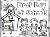 Free Printable First Day Of School Coloring Pages Back to School Drawing at Getdrawings