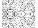 Free Printable Flower Coloring Pages for Adults Coloring Pages Printable Flowers