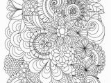 Free Printable Flower Coloring Pages for Adults Flower Coloring Pages for Adults Inspirational Cool Vases Flower