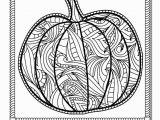 Free Printable Full Size Halloween Coloring Pages Pumpkin Coloring Page for Grown Ups Instant Download