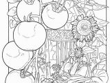 Free Printable Garden Coloring Pages Color with Images