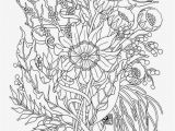 Free Printable Garden Coloring Pages Coloring Pages Flowers for Teens
