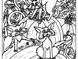 Free Printable Halloween Coloring Pages for Adults Advanced Halloween Coloring Pages at Getcolorings
