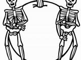 Free Printable Halloween Skeleton Coloring Pages Free Halloween Skeleton Coloring Pages 004