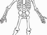 Free Printable Halloween Skeleton Coloring Pages Free Printable Skeleton Halloween Coloring Page for Kids