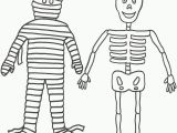 Free Printable Halloween Skeleton Coloring Pages Halloween Colorings