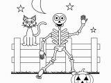 Free Printable Halloween Skeleton Coloring Pages Halloween Skeleton Coloring Pages Free Printable Halloween