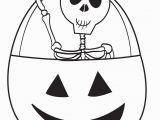 Free Printable Halloween Skeleton Coloring Pages Printable Halloween Skeleton Coloring Page for Kids 3